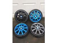 Corsa C Exclusive Alloy Wheels 4x100