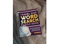 Brand new word search book stocking filler