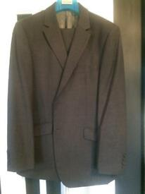 Men's ted baker grey suit