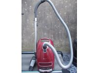 Miele C3 Cat and Dog Power Line Bagged Cylinder Vacuum Cleaner Red