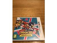 Mario and sonic London Olympic Games 2012 3ds