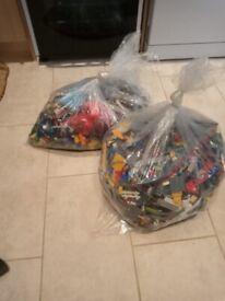 Mixed bag of 15.5kg Genuine Lego
