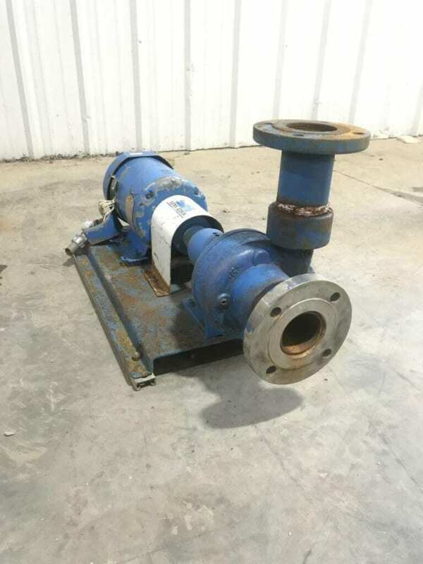 "Scot Centrifugal Pump 3"" Ports 5HP 3PH Baldor motor"