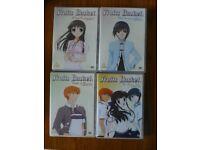Set of 4 Unused Fruits Basket Anime DVD's