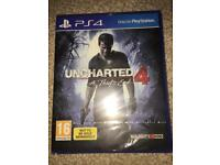 Sony PS4 game - Uncharted 4 - A Thief's End