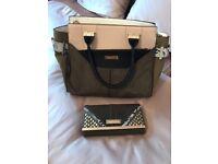 River island handbag and purse