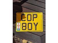 Personalised Number Plate [COP80Y]