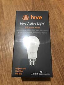 Hive Warm White Active Light