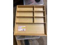 IKEA Bamboo Cutlery Tray
