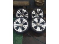"20"" savoy alloy wheels"