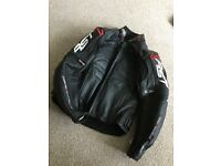 Woman's Leather RST motorcycle jacket