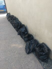 20 bags of rubble/hardcore