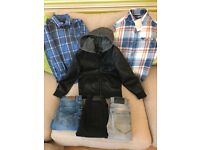 Bundle of boys clothes age 8yrs (river island and next)