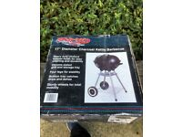 17 inch Charcoal BBQ (brand new and unopened in box)