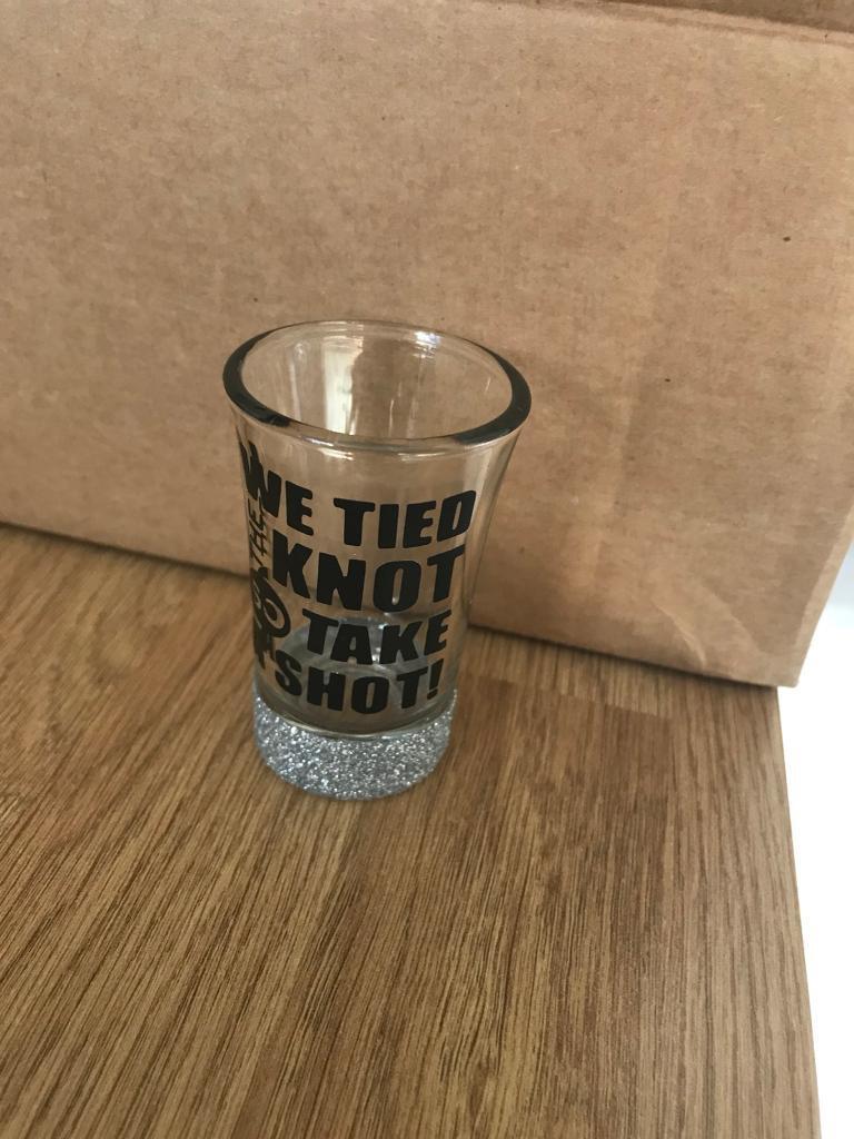 Shot glasses for favours wedding