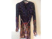 Paisley print dress by NEXT size 10