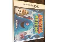 Monsters vs Aliens Nintendo DS game (good condition, boxed)