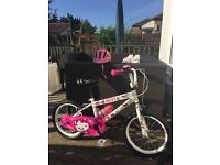 "Girls 16"" Hello Kitty Bike"