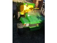 Child's toy tractor