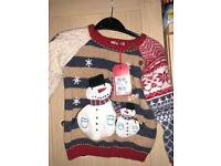 NEXT unisex Christmas jumper age 2-3 years