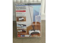 SILVERCREST Cordless Rechargeable Floor Sweeper BRAND NEW.