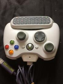 Xbox360 controller with key pad