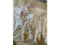 Bundle of 3-6 month baby girl clothes