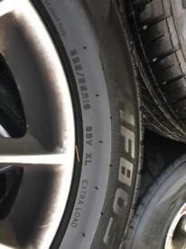BMW 5 series 16 inch alloys