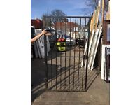 Steel / Iron Gate (Comes complete with Keys And Side Frame) (width-1240 height-2200) Price-£80