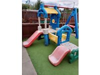 Swing Slide Shoot Adventure Outdoor Kids Childrens Little Tikes