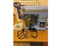 Walls Stand Mixer with bowl guard and whisk, mixer and dough hook