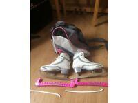 Pair of Ladies size 5 Ice Skates