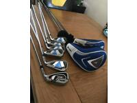 Golf clubs driver, 3 wood, rescue, 5 to sw Ben sayers