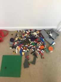 Lego with a small bit of mega blocks