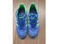 Adidas Mens Trainers size 7 Electric Blue Excellent Condition