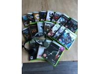 X Box games & headsets