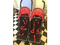 OBABY Double Buggy *Great Condition*
