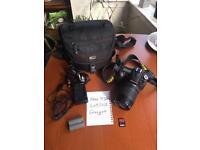 Nikon D90 Digital SLR Camera and 18-105mm Nikon VR LENS Kit plus more