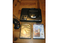 SEGA Mega Drive + games (Megadrive)