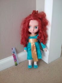 Disney animator Merida doll