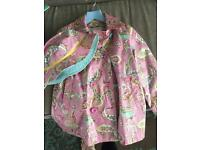 Joules Rain Mac with hat