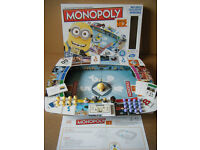 """Monopoly """"DESPICABLE ME 2"""". Includes exclusive Minions. By Hasbro Games 2013. Complete."""