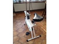 Tunturi Exercise Bike with heavy flywheel drive.