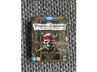 Pirates of the Caribbean Blu Ray box set