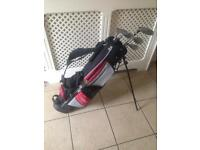 Young guns pro series right handed golf clubs and bag