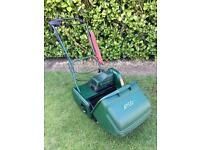 ATCO WINSOR 14S ELECTRIC SELF PROPELLED CYLINDER LAWN MOWER WITH GRASSBOX