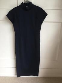Zara Dress Navy Size 8
