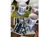 Titanic Quarter mugs and coasters