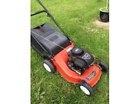 Champion petrol lawn mower Briggs & Stratton