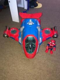 Spiderman jet
